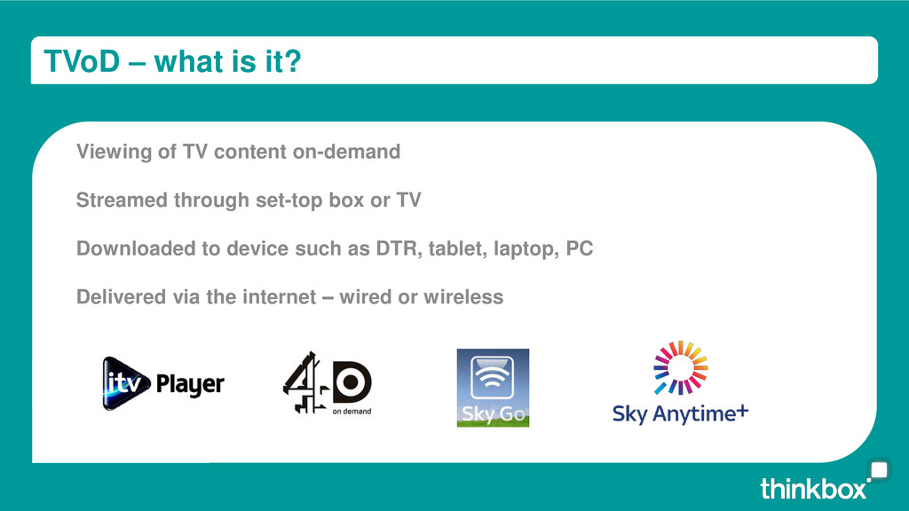 TVoD – what is it? Viewing of TV content on-dem...