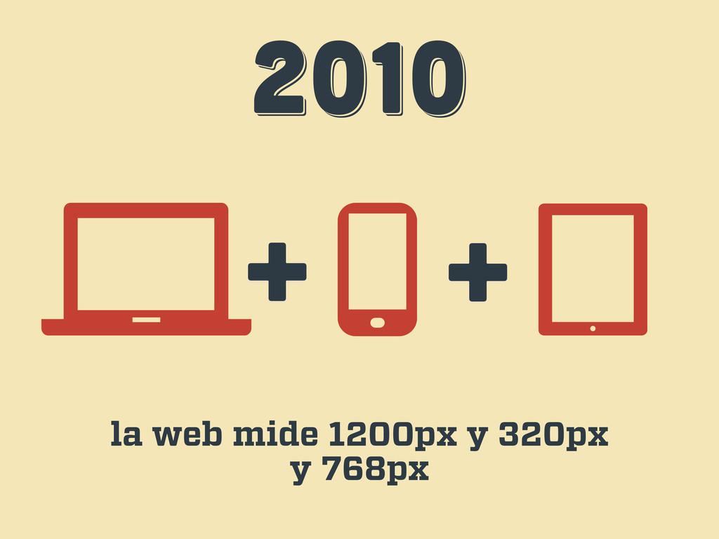 2010 2010 2010 + + la web mide 1200px y 320px y...