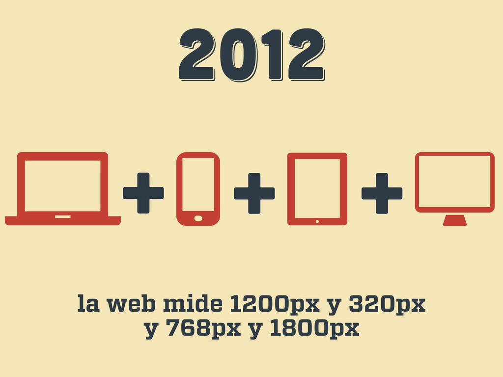 2012 2012 2012 + + la web mide 1200px y 320px y...