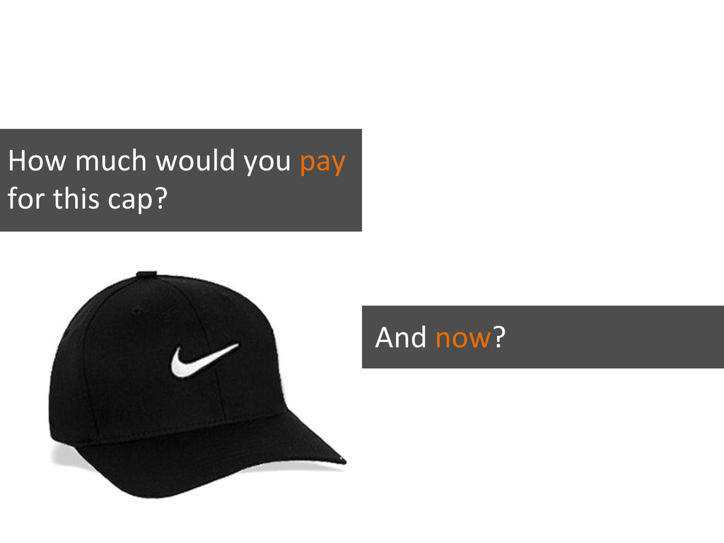 How much would you expect to pay for this cap? ...