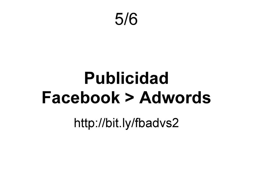 Publicidad Facebook > Adwords http://bit.ly/fba...