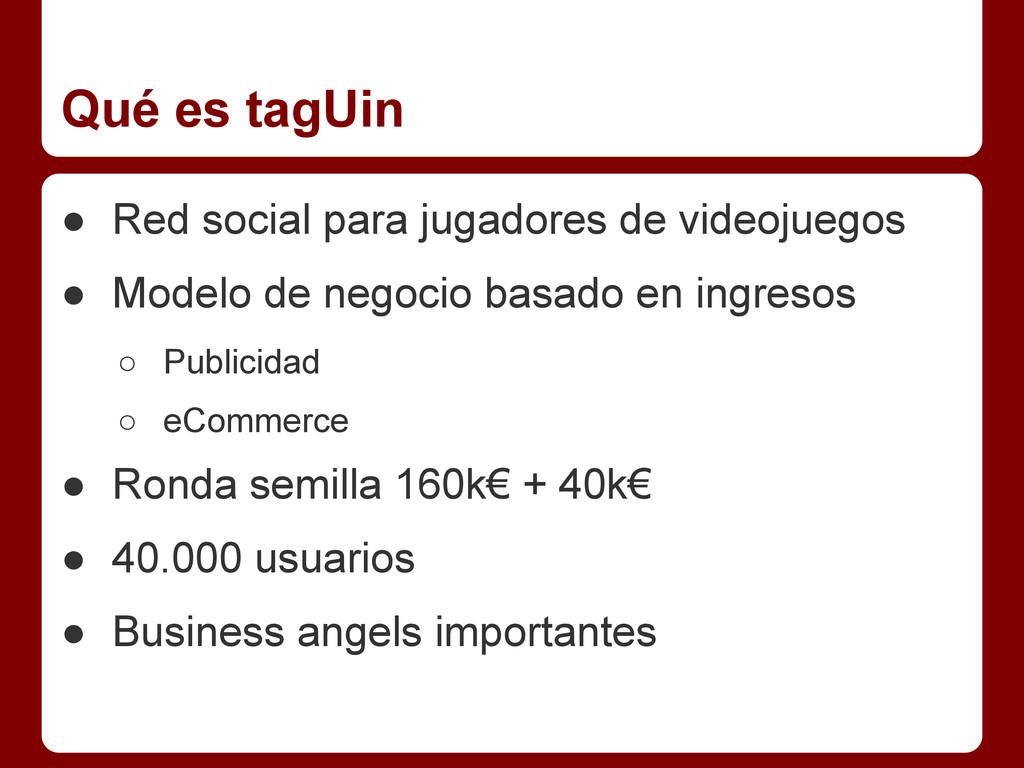 Qué es tagUin ● Red social para jugadores de vi...