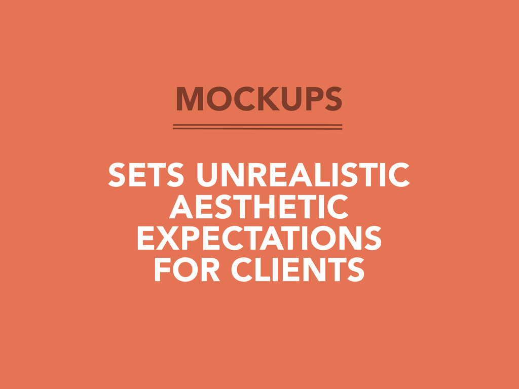 MOCKUPS SETS UNREALISTIC AESTHETIC EXPECTATIONS...