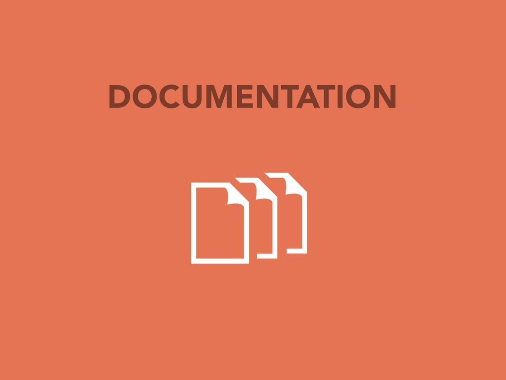 TYPICAL PROCESS DOCUMENTATION