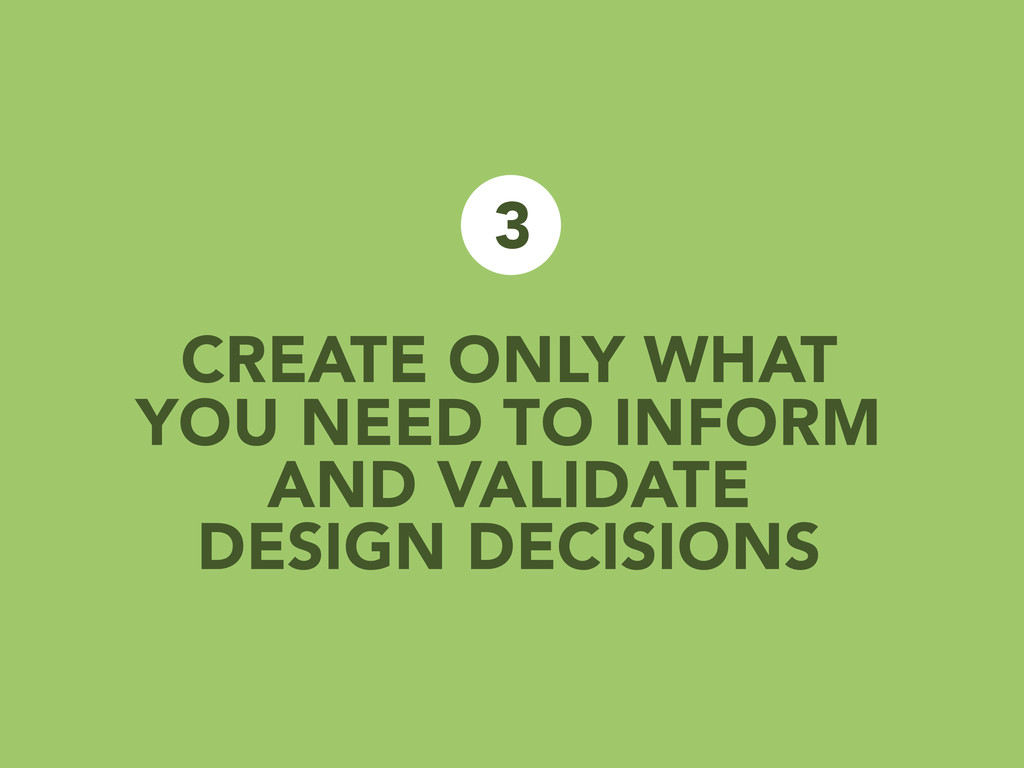 CREATE ONLY WHAT YOU NEED TO INFORM AND VALIDAT...