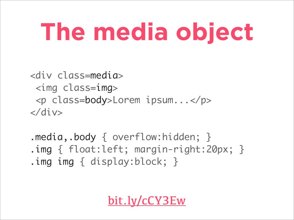 The media object bit.ly/cCY3Ew <div class=media...