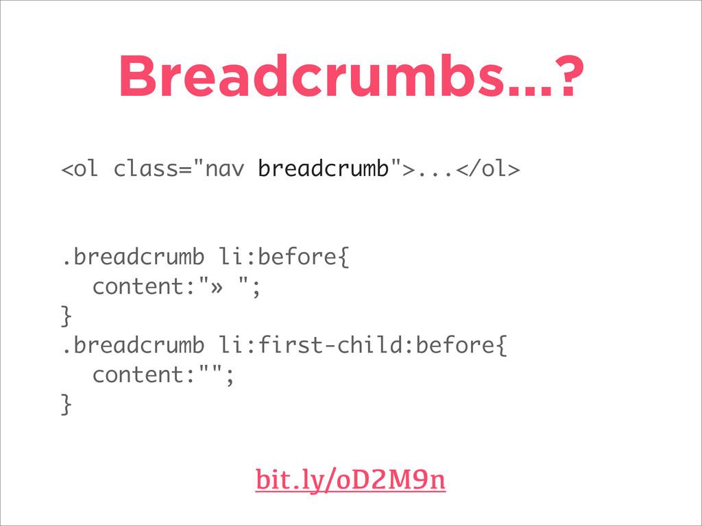 """<ol class=""""nav breadcrumb"""">...</ol> .breadcrumb..."""