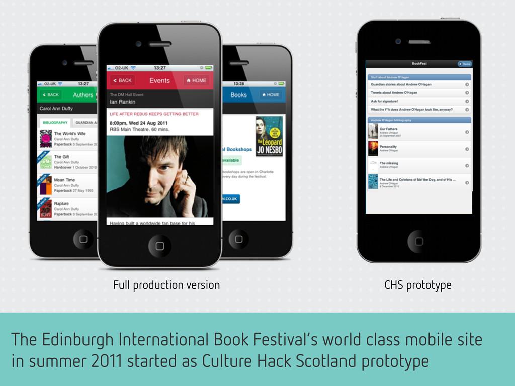 The Edinburgh International Book Festival's wor...