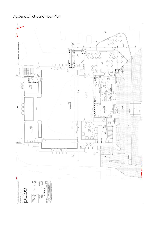 Appendix I: Ground Floor Plan