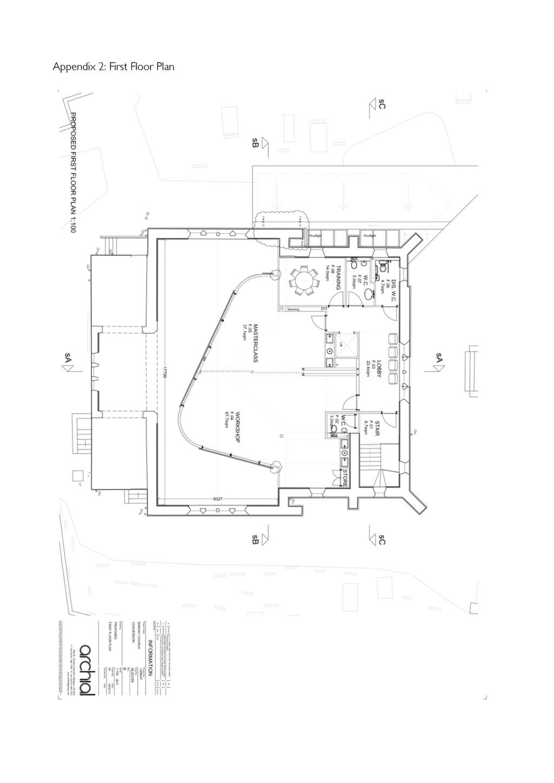 Appendix 2: First Floor Plan