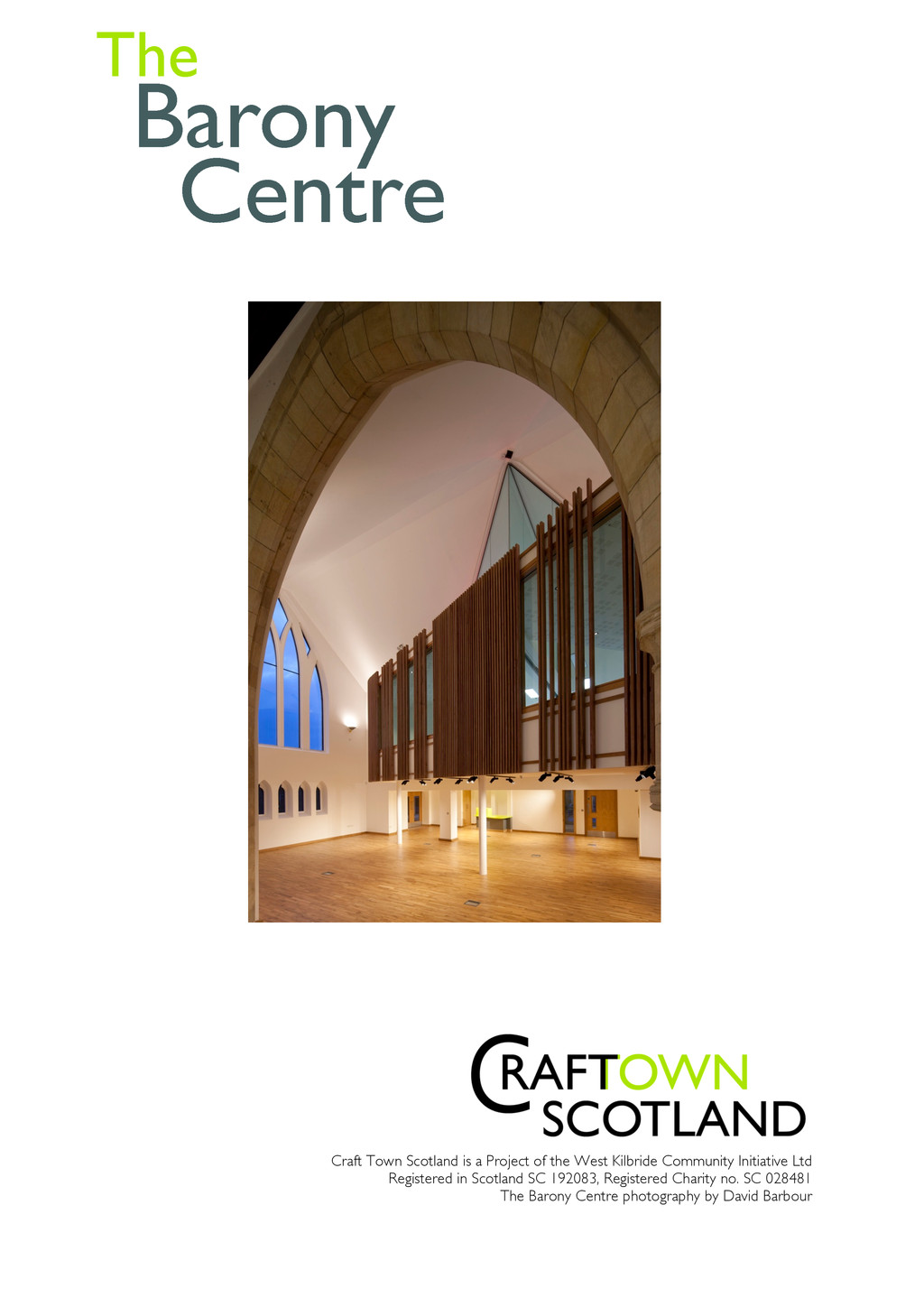 Craft Town Scotland is a Project of the West Ki...