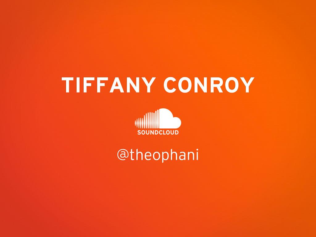 @theophani TIFFANY CONROY