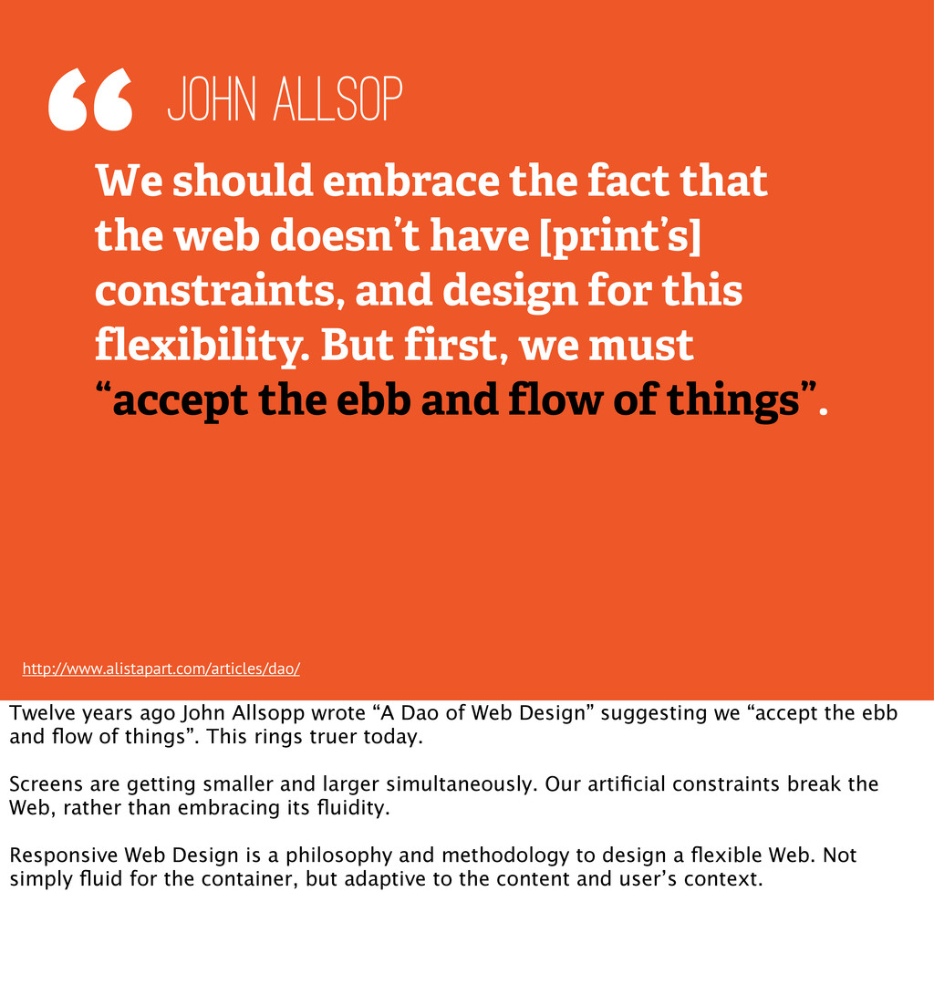 """""""We should embrace the fact that the web doesn'..."""