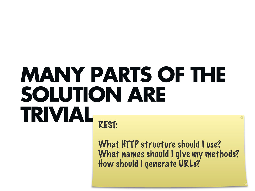 MANY PARTS OF THE SOLUTION ARE TRIVIAL. REST: W...