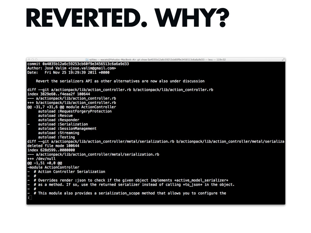 REVERTED. WHY?