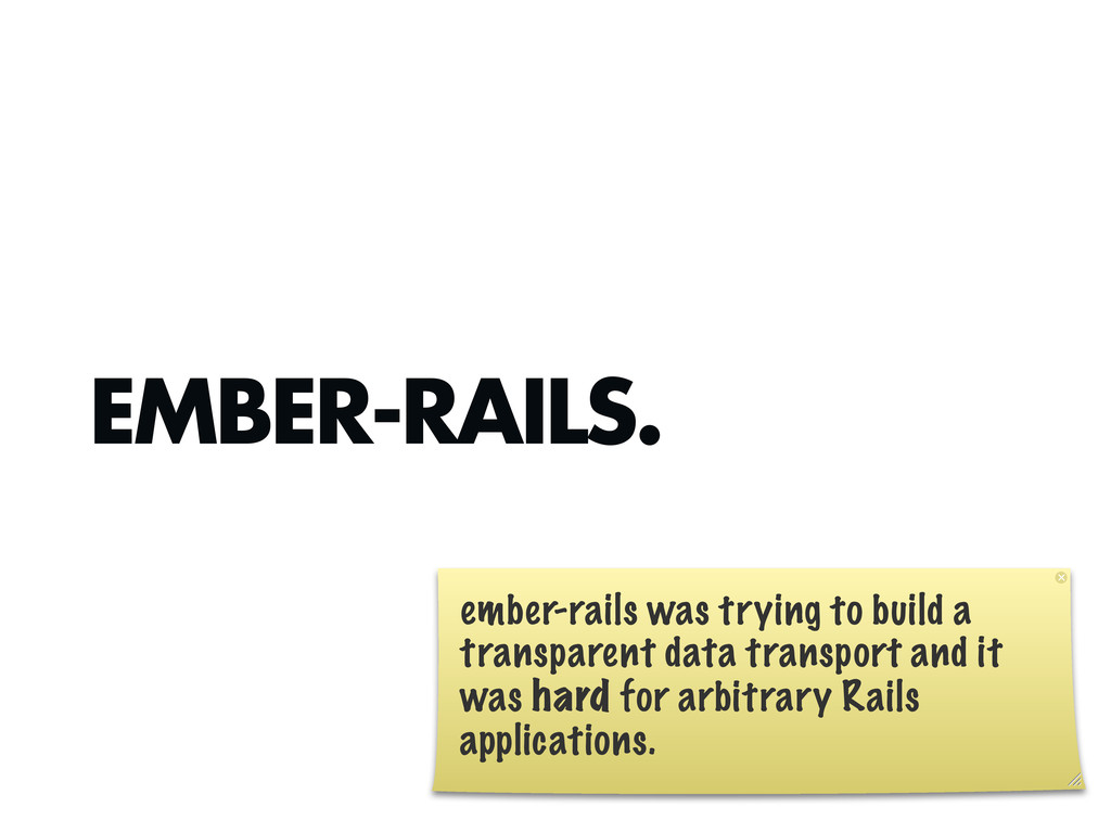EMBER-RAILS. ember-rails was trying to build a ...