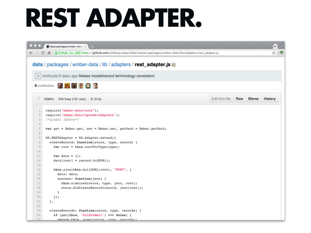 REST ADAPTER.