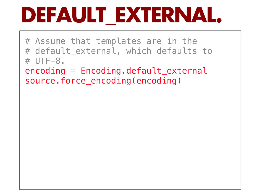 # Assume that templates are in the # default_ex...