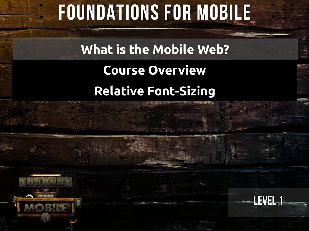 Relative Font-Sizing Foundations for Mobile Wha...