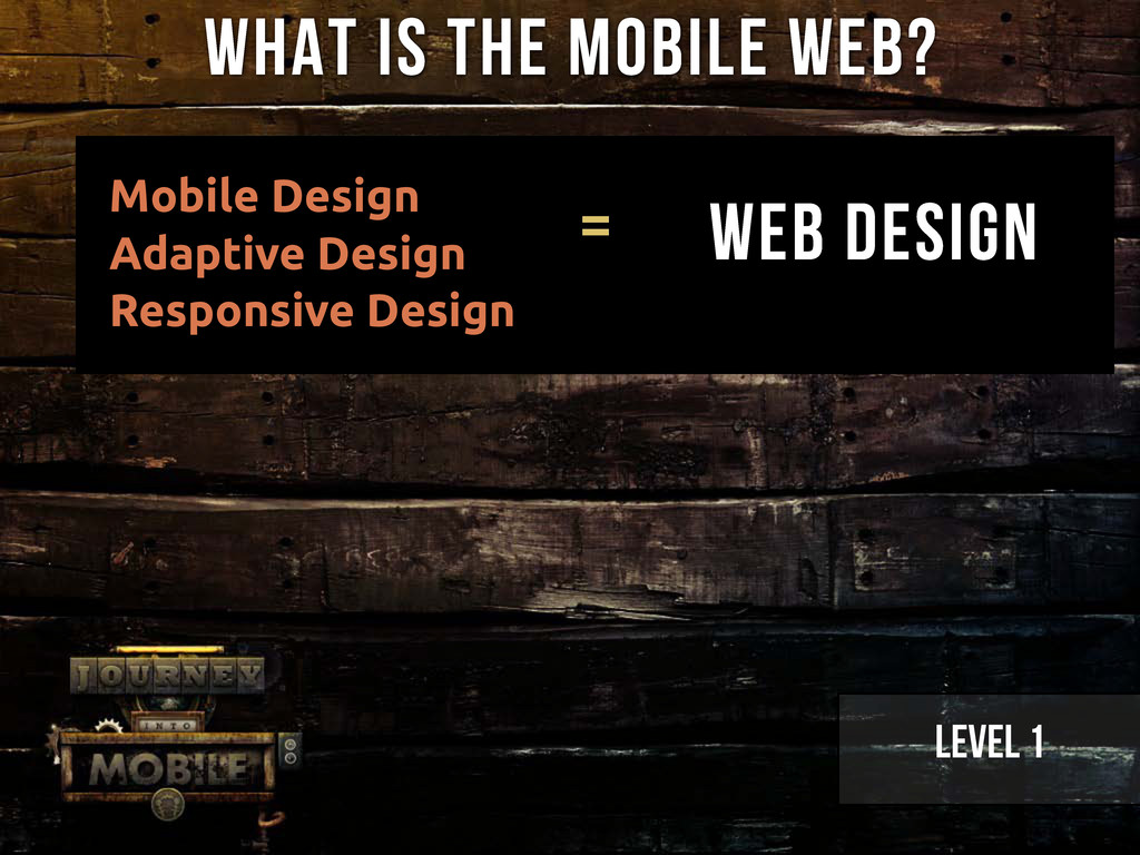 Mobile Design Adaptive Design Responsive Design...