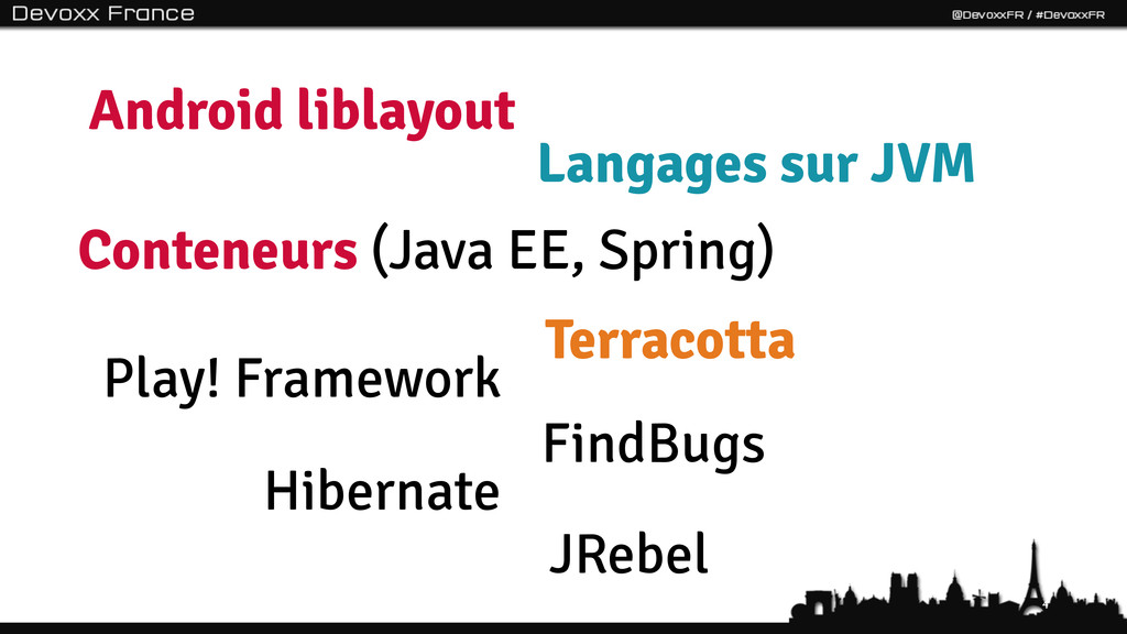 4 Conteneurs (Java EE, Spring) Android liblayou...