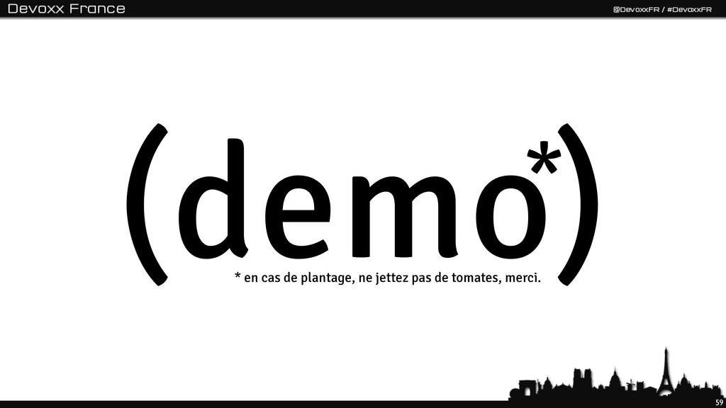 59 (demo) * * en cas de plantage, ne jettez pas...