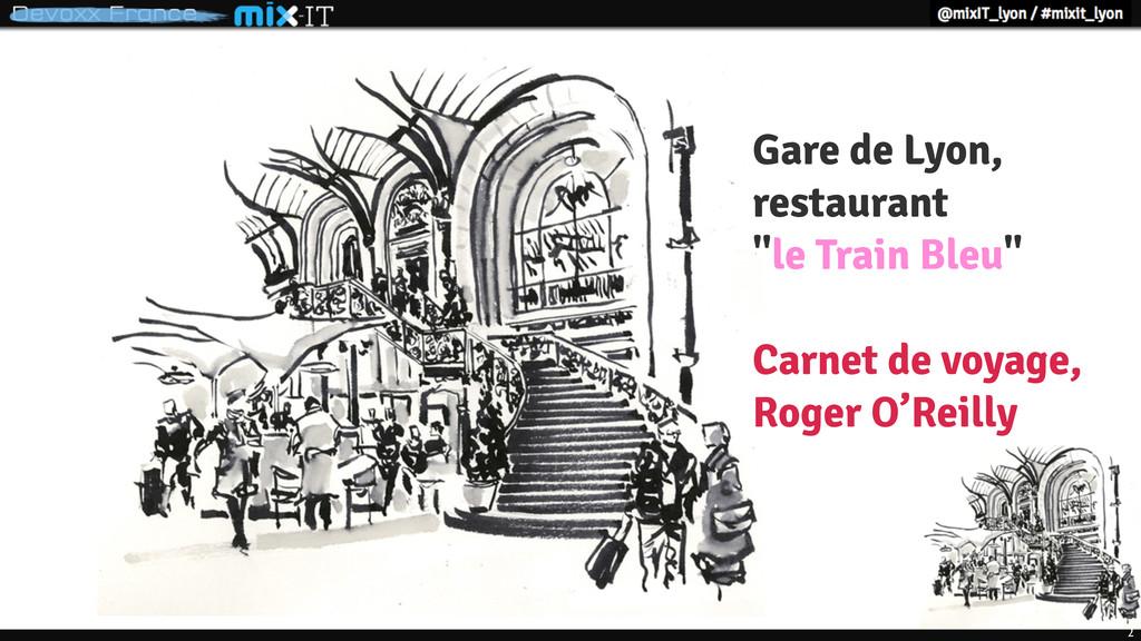 """2 Gare de Lyon, restaurant """"le Train Bleu"""" Carn..."""