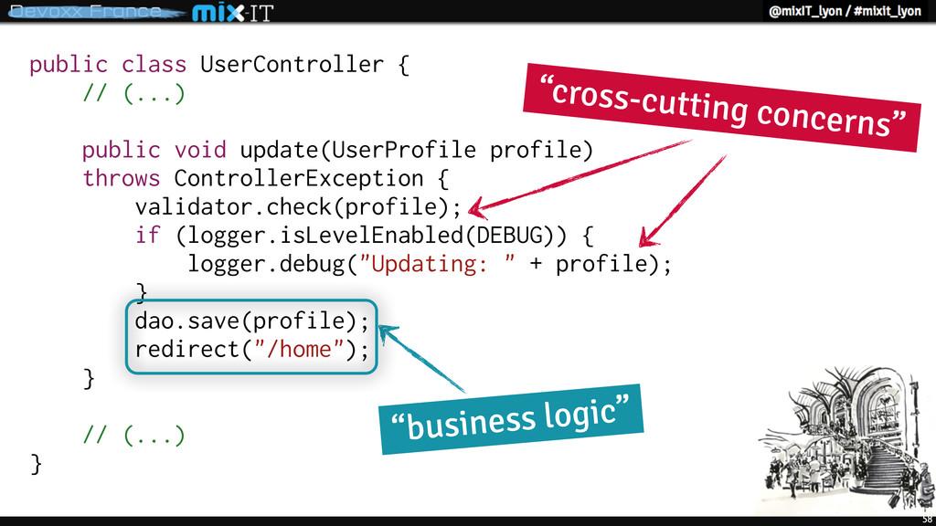 58 public class UserController { // (...) publi...