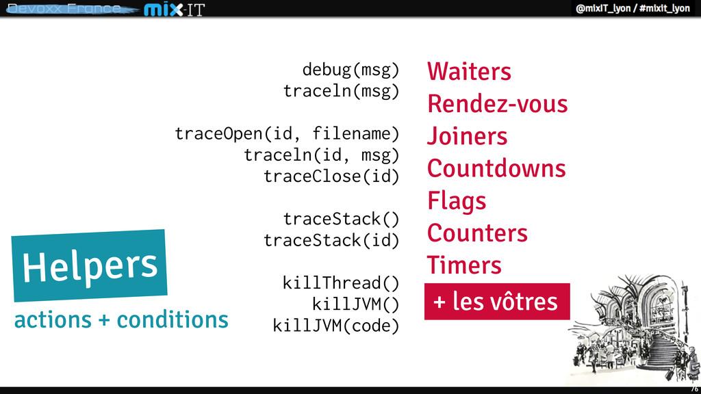76 debug(msg) traceln(msg) traceOpen(id, filena...