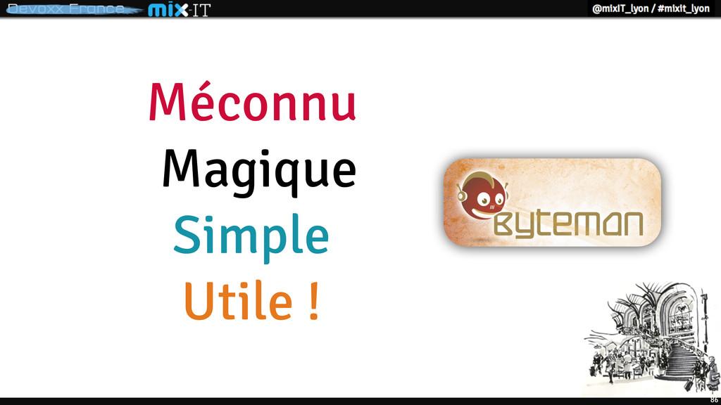 Méconnu Magique Simple Utile ! 86