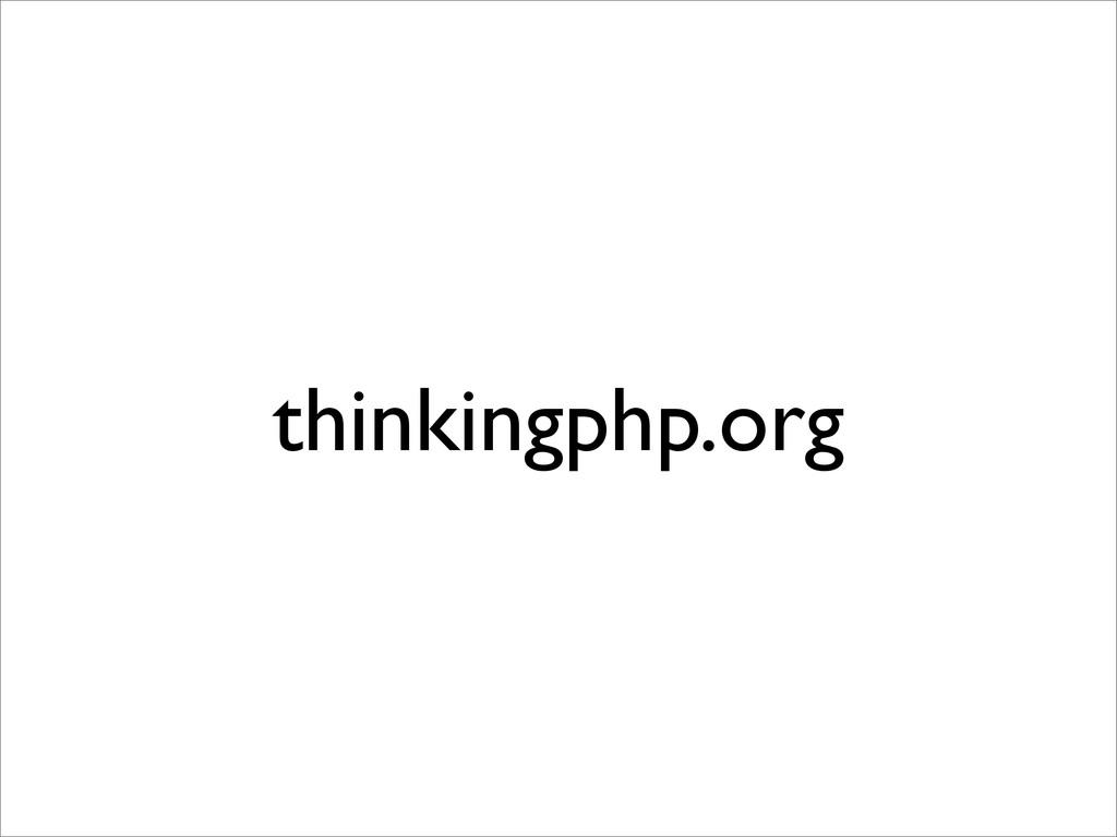 thinkingphp.org