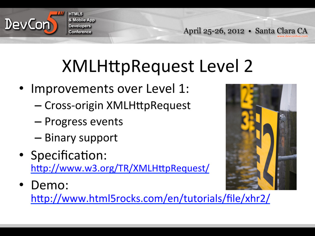 XMLH]pRequest Level 2  • Improvements...