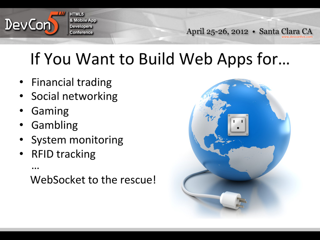 If You Want to Build Web Apps...