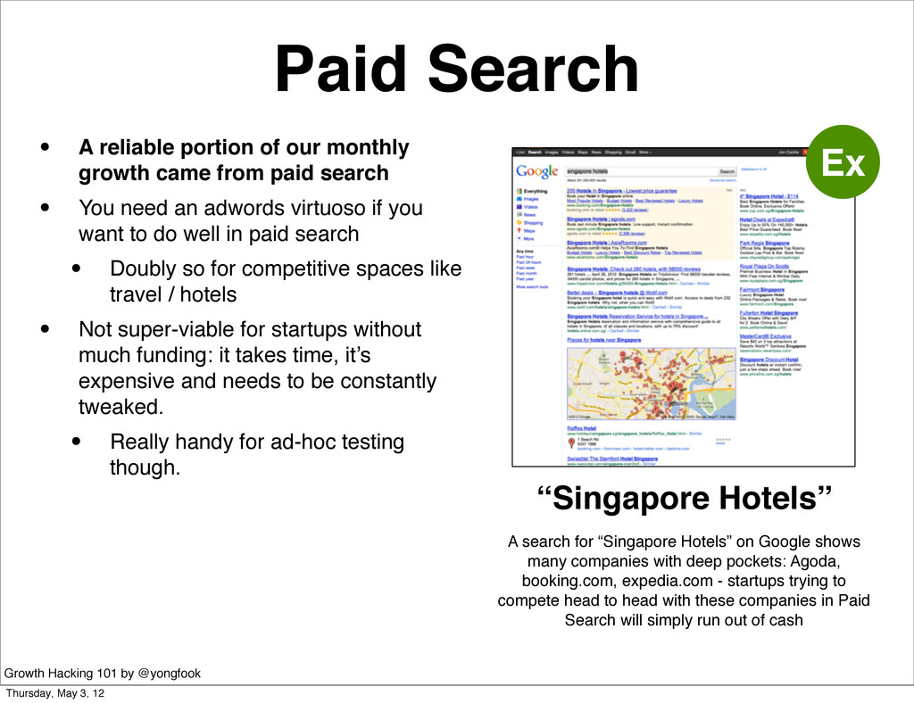 Paid Search • A reliable portion of our monthly...
