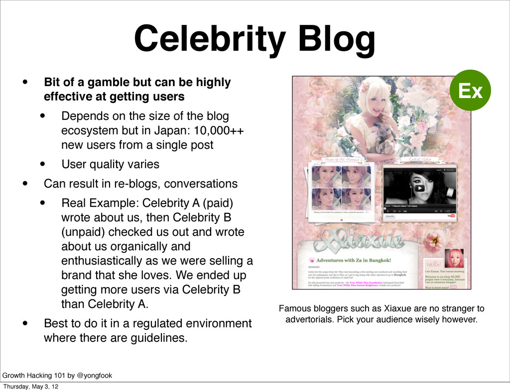 Celebrity Blog • Bit of a gamble but can be hig...