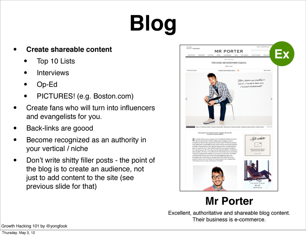 Blog • Create shareable content • Top 10 Lists ...