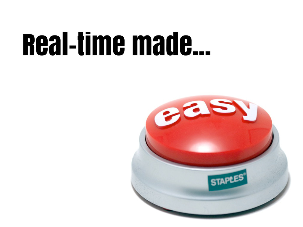 Real-time made...