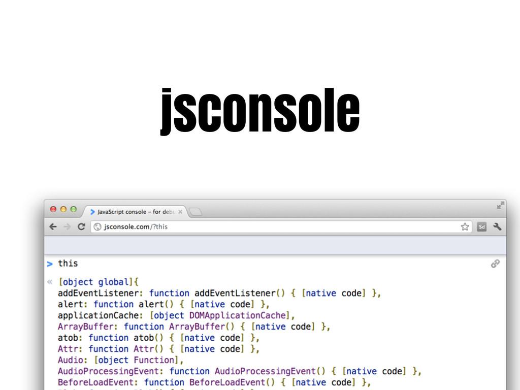 jsconsole