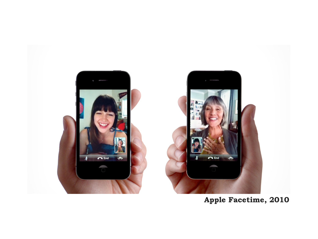 Apple Facetime, 2010