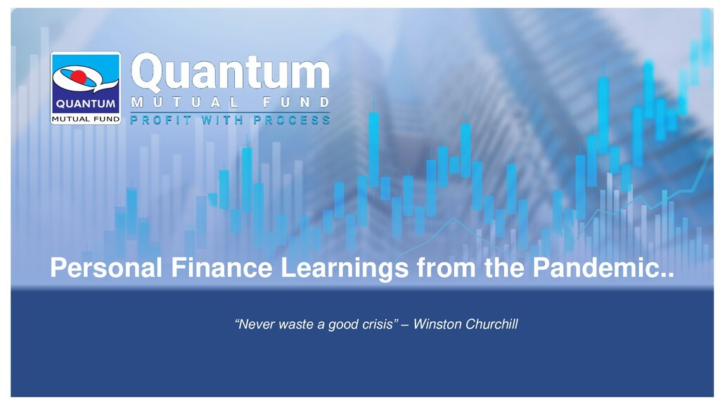 Personal Finance Learnings from the Pandemic.. ...