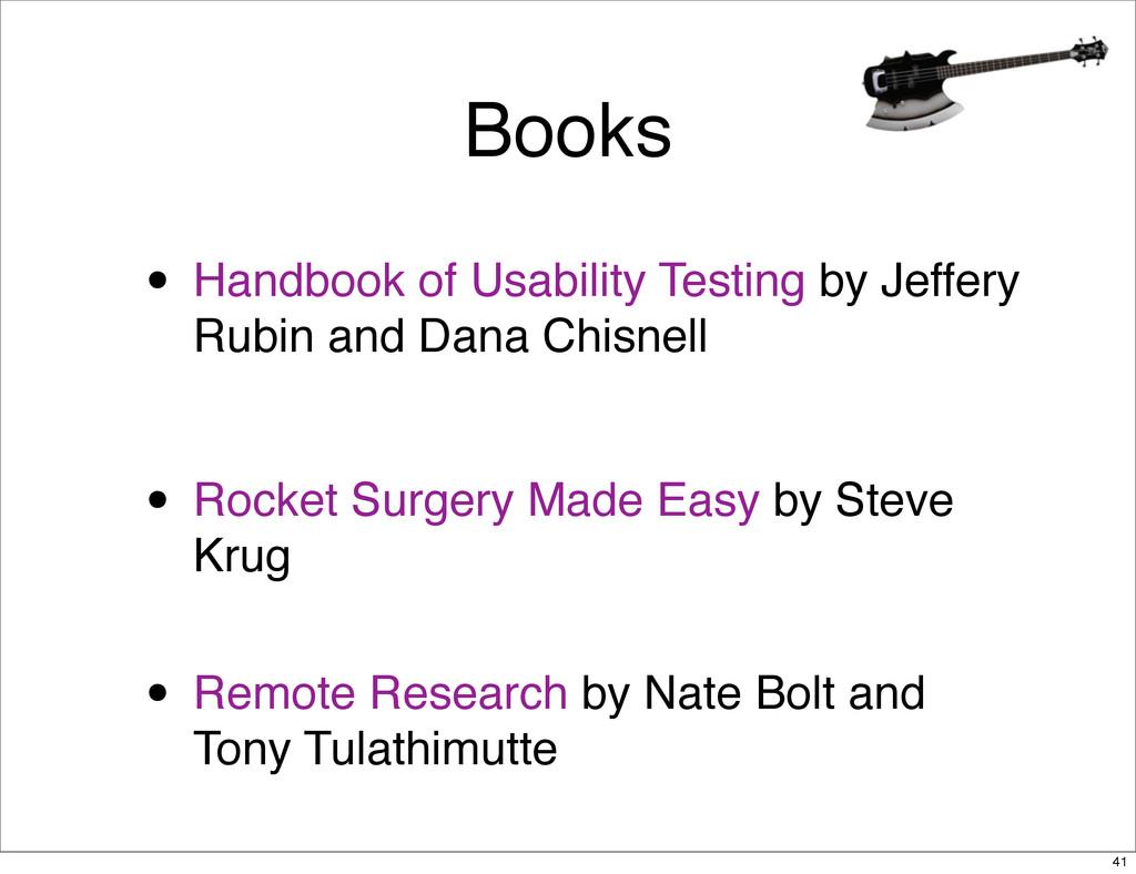 Books • Handbook of Usability Testing by Jeffer...