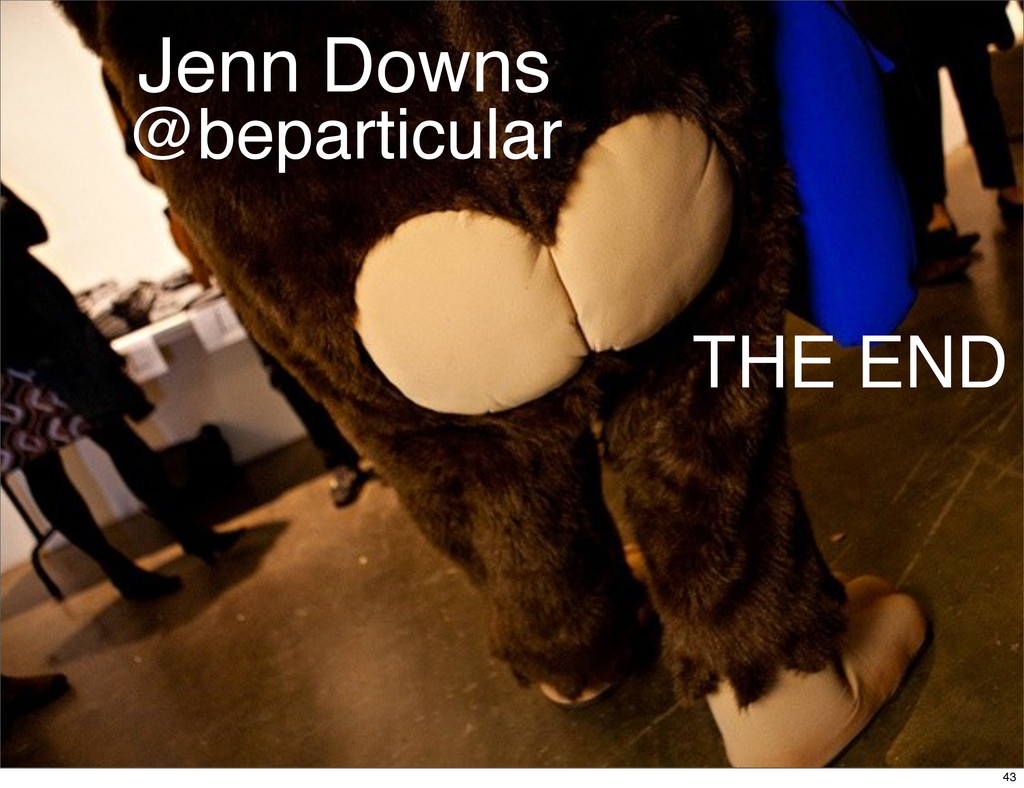 @beparticular Jenn Downs THE END 43