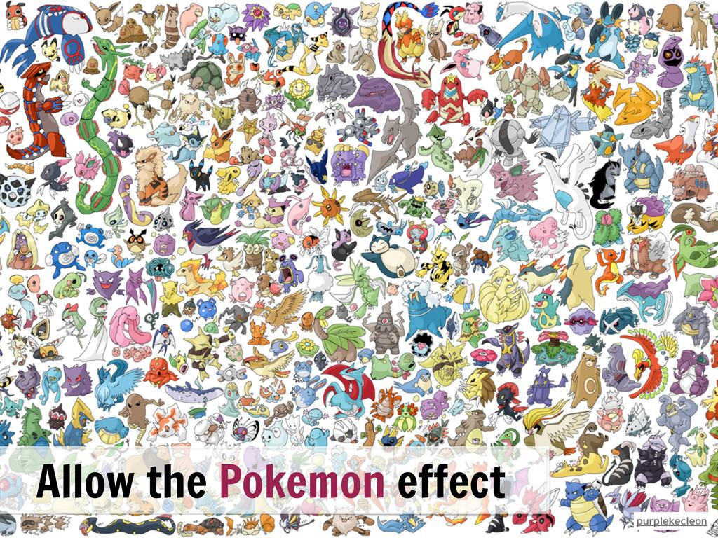 purplekecleon Allow the Pokemon effect