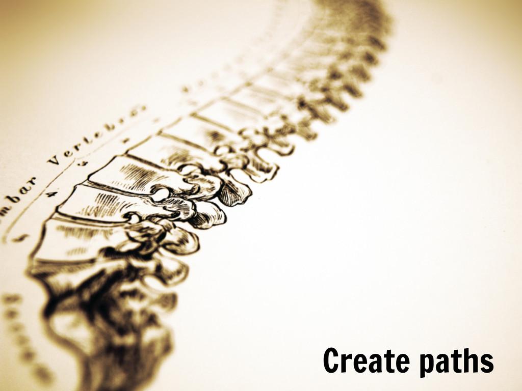 Date Create paths