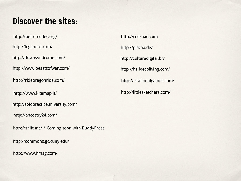 Discover the sites: http://www.hmag.com/ http:/...