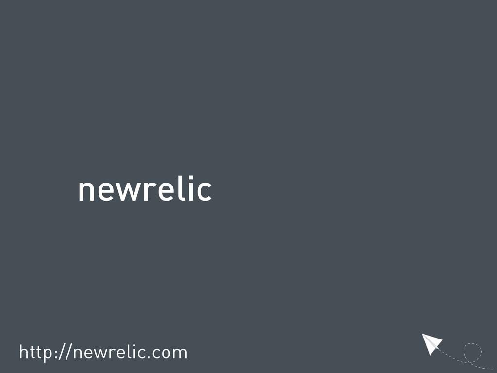newrelic http://newrelic.com