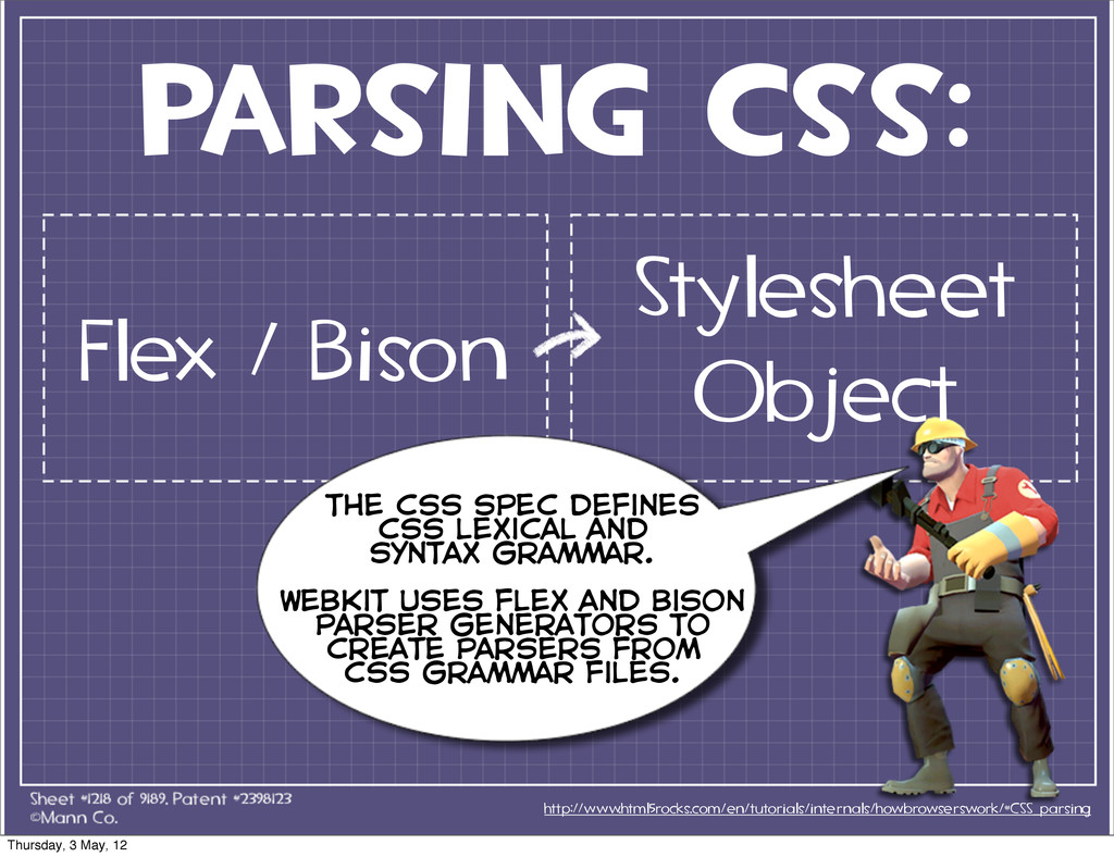 parsing CSS: http://www.html5rocks.com/en/tutor...