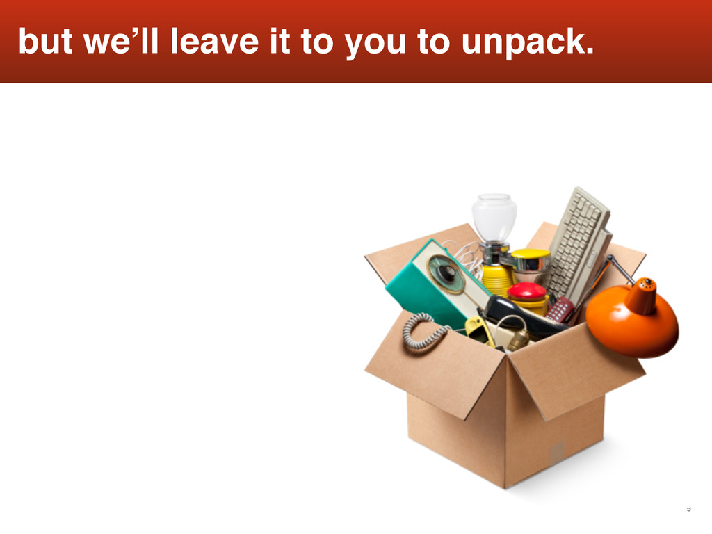 5 but we'll leave it to you to unpack.