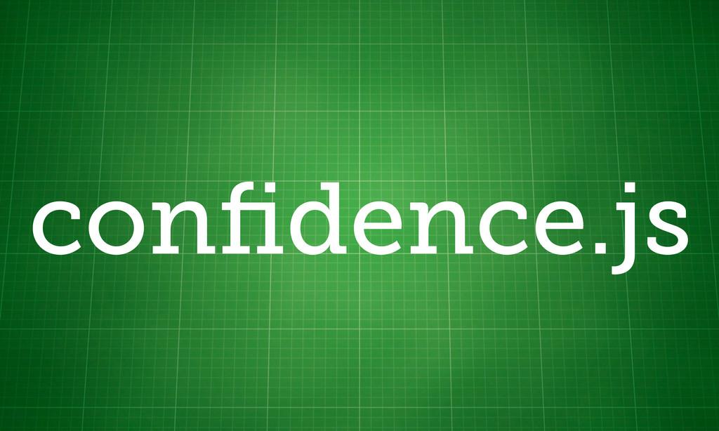 confidence.js