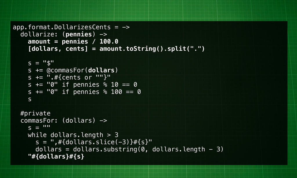 app.format.DollarizesCents = -> dollarize: (pen...